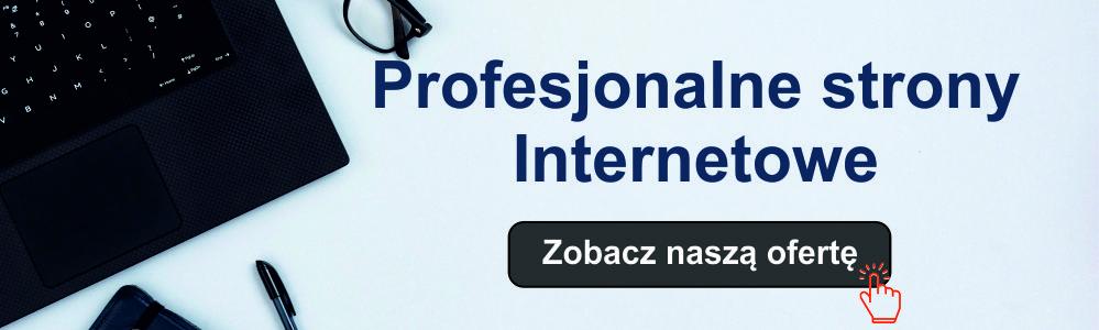 Strony internetowe Sanok - firma z doświadczeniem